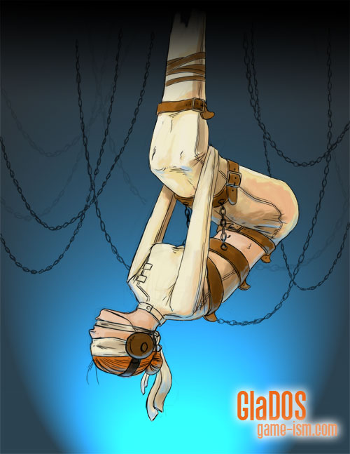 GlaDOS Bound And Gagged – Veteran Gamers
